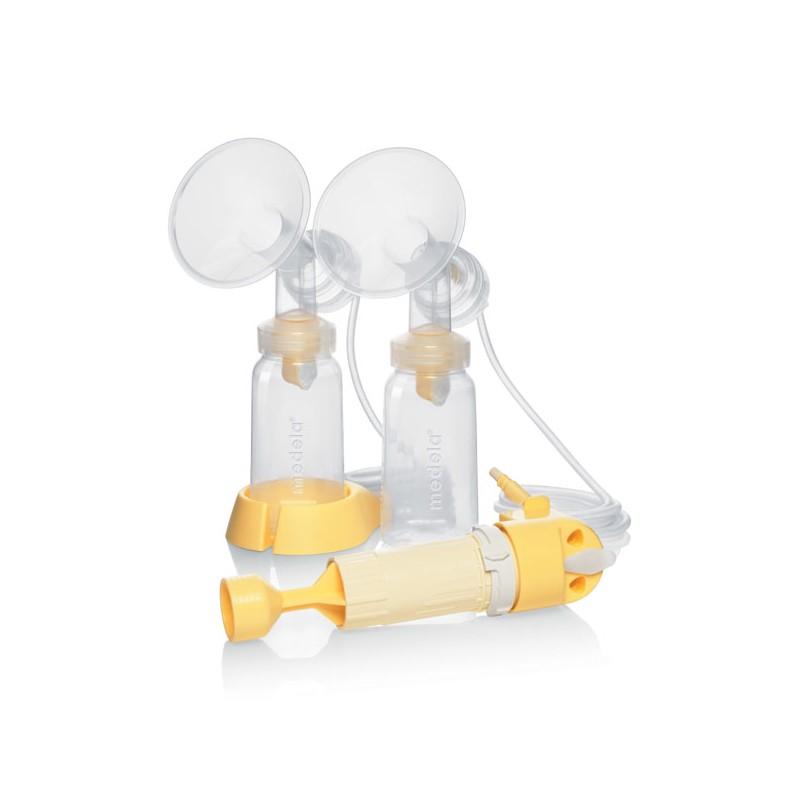 t terelles doubles lactaset pour tire lait lactina. Black Bedroom Furniture Sets. Home Design Ideas